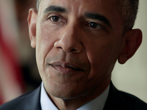 President Barack Obama is interviewed by NPR's Steve Inskeep at the White House on Monday.