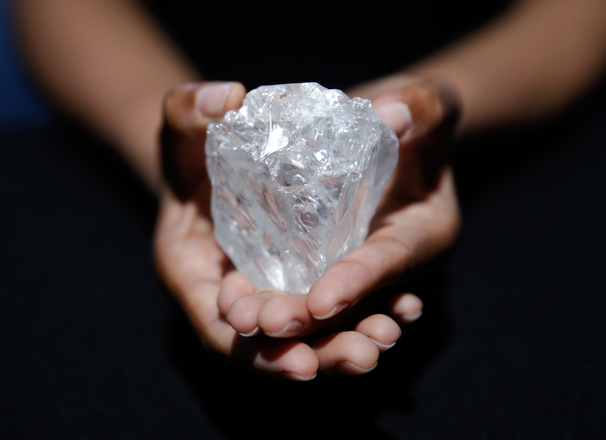The Largest Diamond Found In A Century Comes From Botswana
