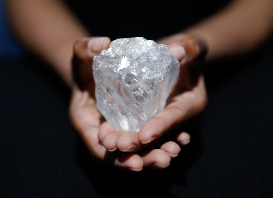 carats pastor diamond clergyman in huge discovery found by news diamonds world leone of sierra discovered