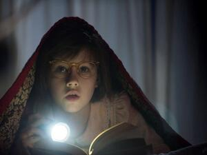Sophie (Ruby Barnhill) in The BFG.