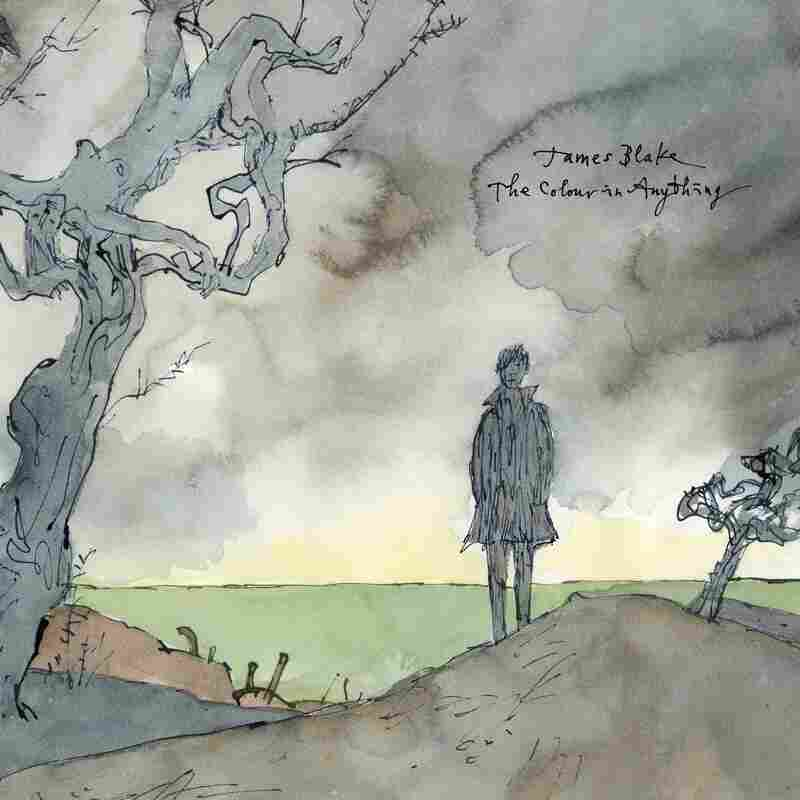 Illustrator Quentin Blake, known for his work with author Roald Dahl, did the cover art for James Blake's new album, The Colour In Anything.