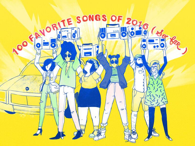 Stream NPR Music's 100 Favorite Songs Of 2016 (So Far) : NPR