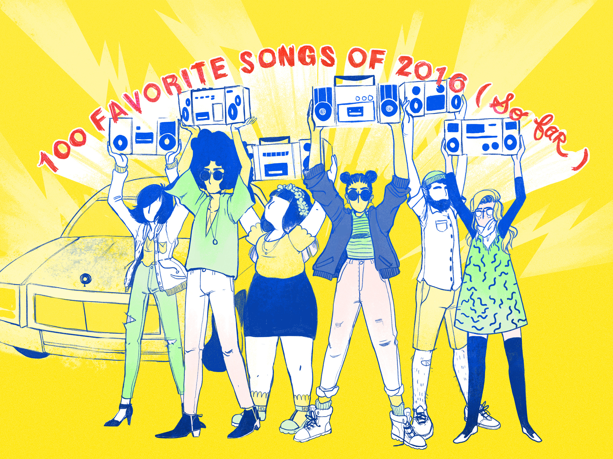 NPR Music's 100 Favorite Songs Of 2016 (So Far)