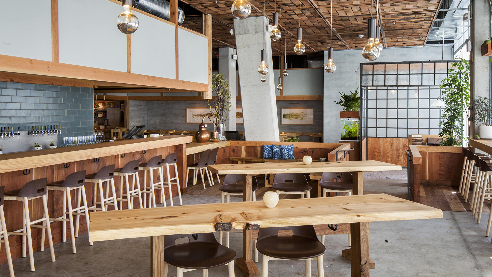 Why Does Every New Restaurant Look Like A Factory The Salt Npr