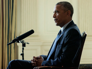 President Obama is interviewed by NPR's Steve Inskeep.