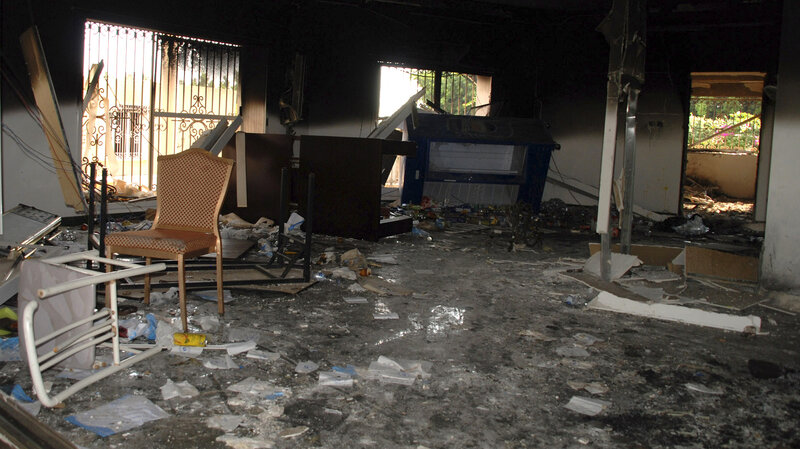 Benghazi Committee Faults Military Response To 2012 Attack : NPR