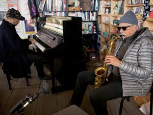 Tiny Desk Concert with Charles Lloyd & Jason Moran.