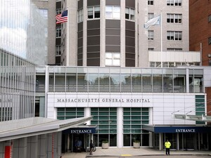 Massachusetts General Hospital in Boston was among the institutions with lower rates of doctors accepting payments from industry.