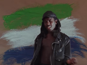 "Blood Orange in a scene from his new video for the song ""Augustine"""