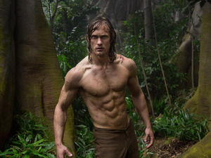 """Tarzan serve Blue Steel! Want tell you about Tarzan's paleo regimen!"": Alexander Skarsgard in The Legend of Tarzan."