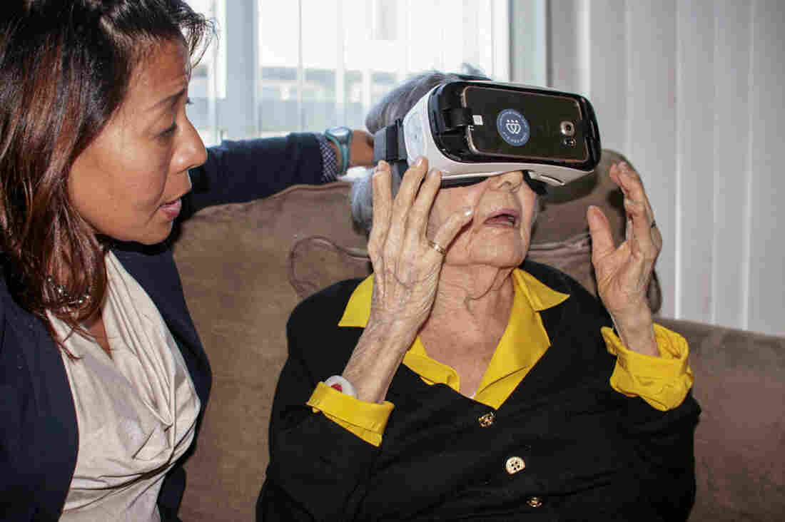 29fcfff1c6 Virtual Reality Aimed At The Elderly Finds New Fans   Shots - Health ...