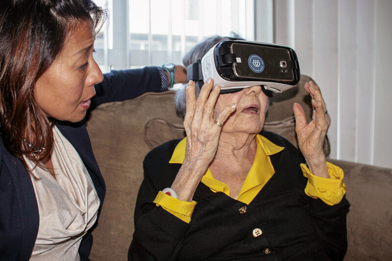 a0abe41c1566 Virtual Reality Aimed At The Elderly Finds New Fans   Shots - Health ...