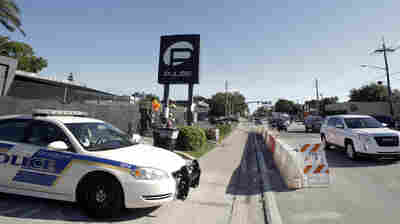 Sheriff's department records shed new light on the June 12 attack on the Pulse nightclub in Orlando, Fla., that killed 49 people. The club is seen here last week.