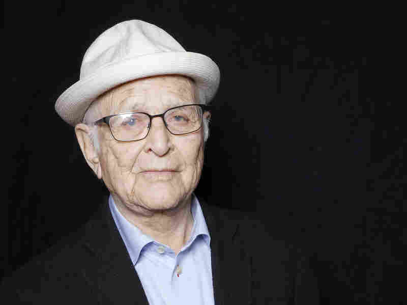 Norman Lear poses for a portrait during the Sundance Film Festival in January.
