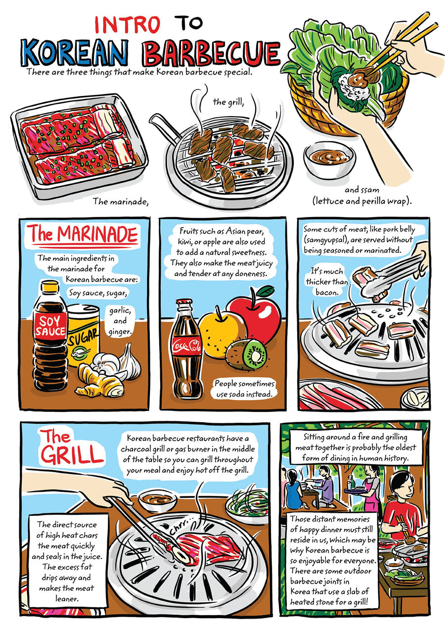learn to make korean food with a charming graphic cookbook the learn to make korean food with a charming graphic cookbook