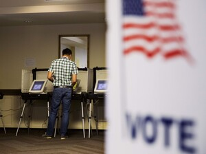 Primary voters may be having an impact on the economy even before a new president is chosen. Some analysts say a slowdown in hiring may be linked to uncertainty about the elections.
