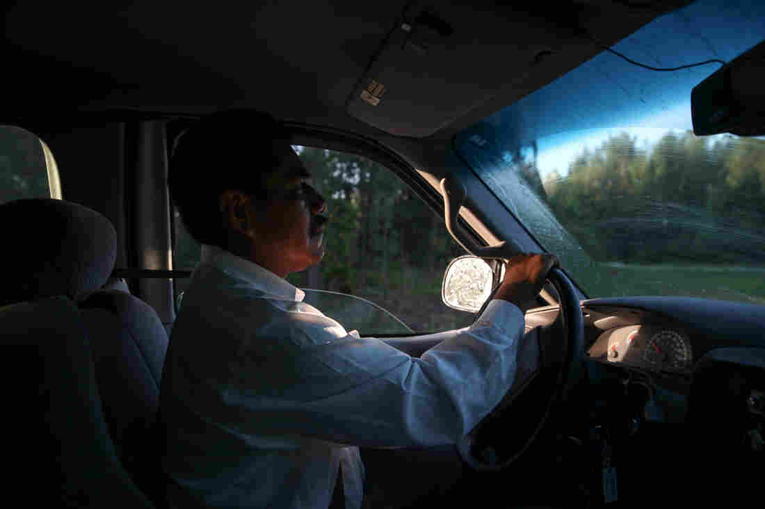 Benito Santiago is constantly on the move, whether it be driving to and from work, driving to drop his daughter off at school, or driving all over the country following the blueberry harvest.