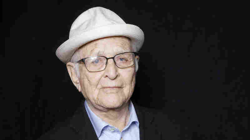 Norman Lear poses for a portrait during the Sundance Film Festival on Sunday, Jan. 24, 2016.