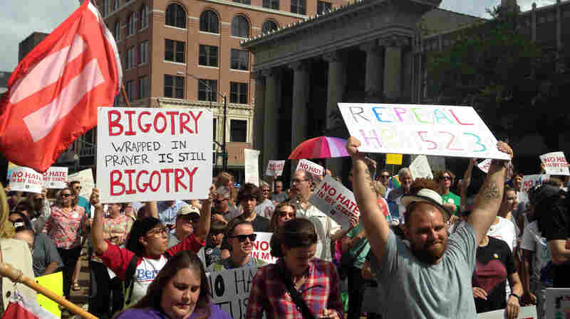 Judge Blocks Mississippi Law Protecting Religious Objections To Gay Marriage
