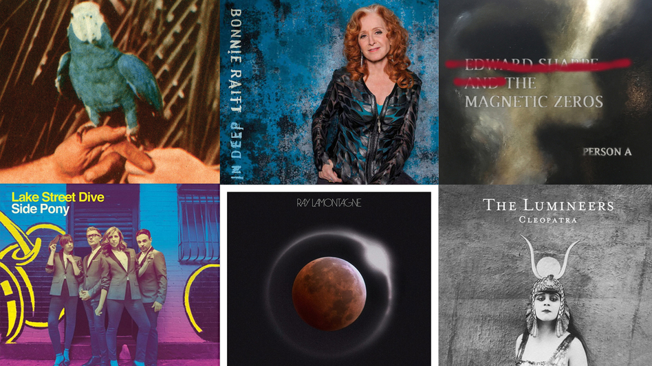 From Lake Street Dive to The Lumineers, these are some of public radio's favorites from 2016. (Courtesy of the artists.)