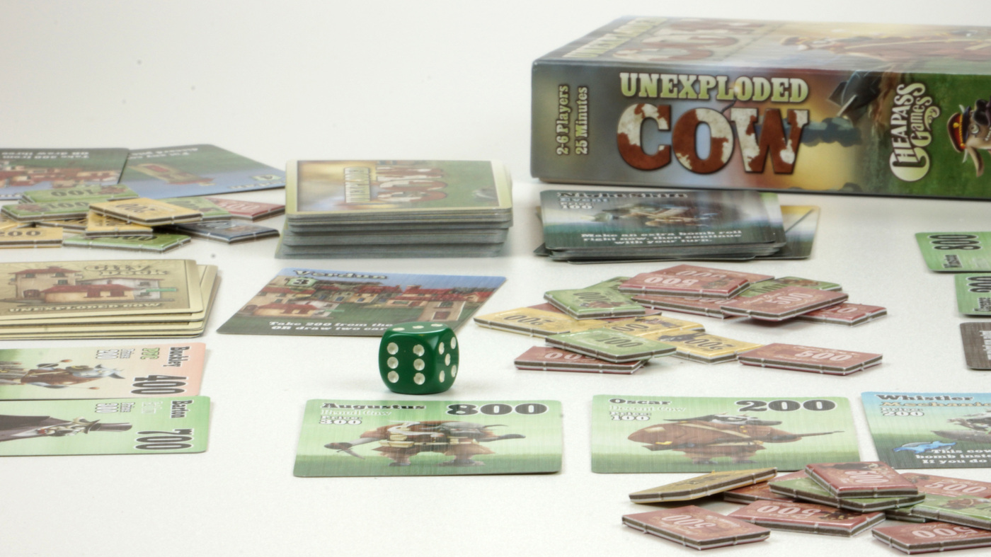 Amid Board Game Boom, Designers Roll The Dice On Odd Ideas — Even Exploding Cows