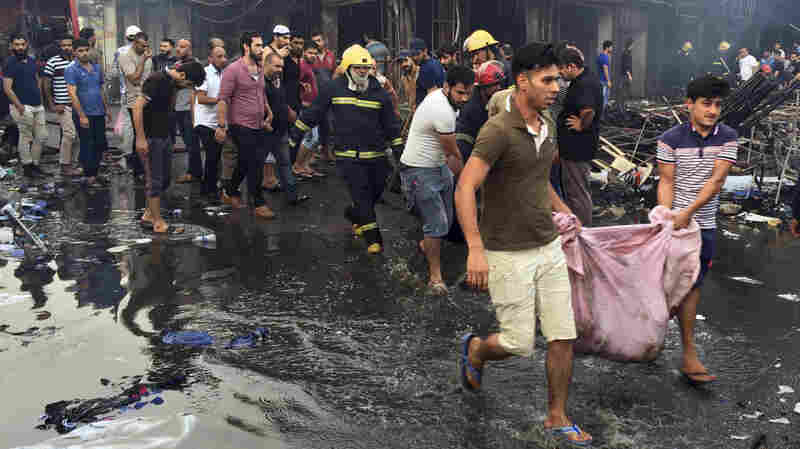 At Least 142 Killed In Islamic State-Claimed Bombing In Baghdad