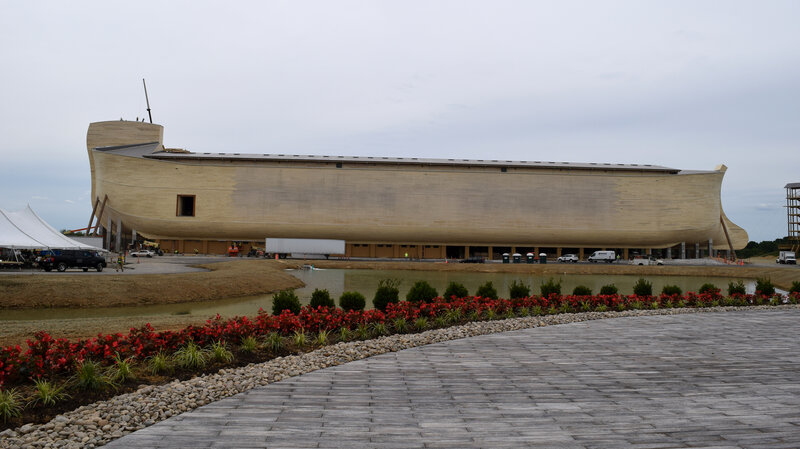 Life-Size Noah's Ark To Open Amid A Flood Of Skepticism : NPR