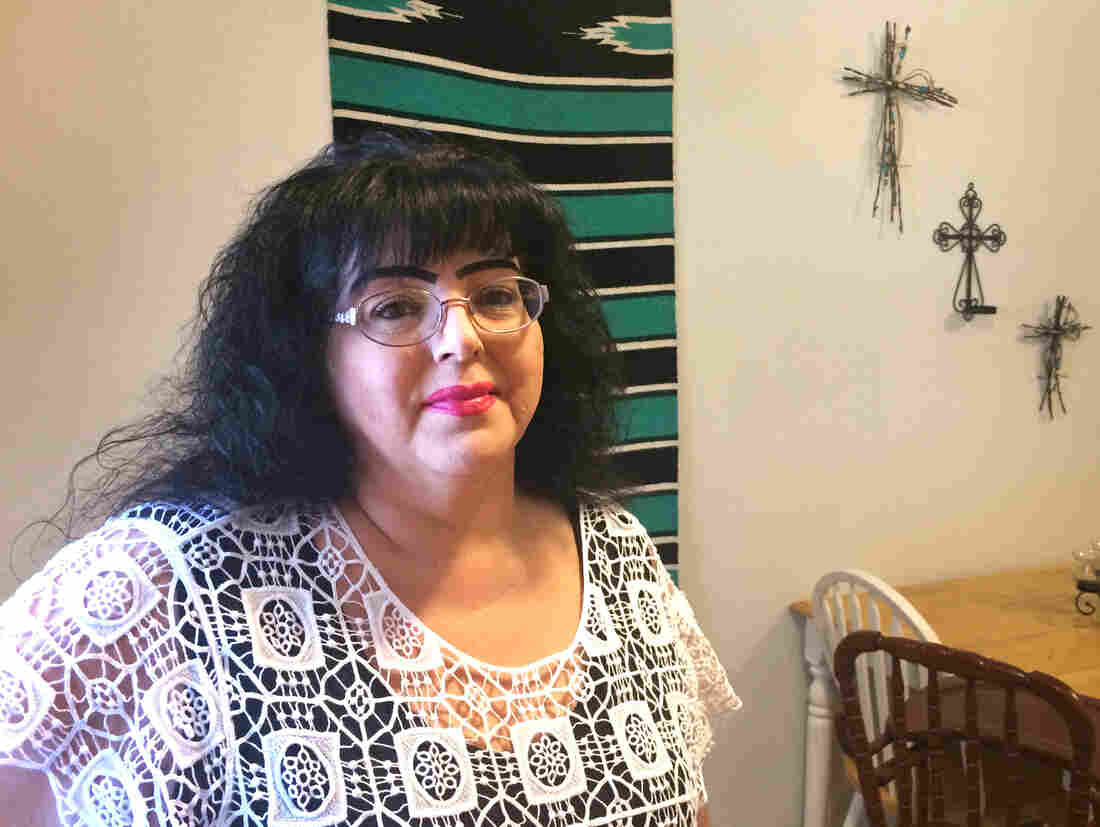Angela Dominguez works for the Income Support Division in Portales, N.M. She's a whistleblower who spoke out about the practice of changing food stamps applications.