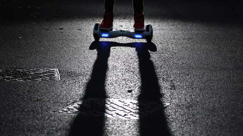 Half A Million 'Hoverboards' Recalled Over Risk Of Fire