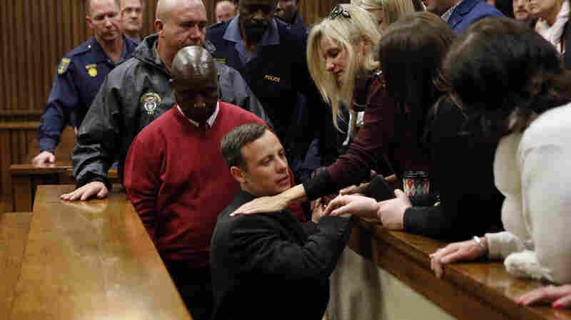 Oscar Pistorius Gets 6-Year Prison Sentence In Girlfriend's Murder