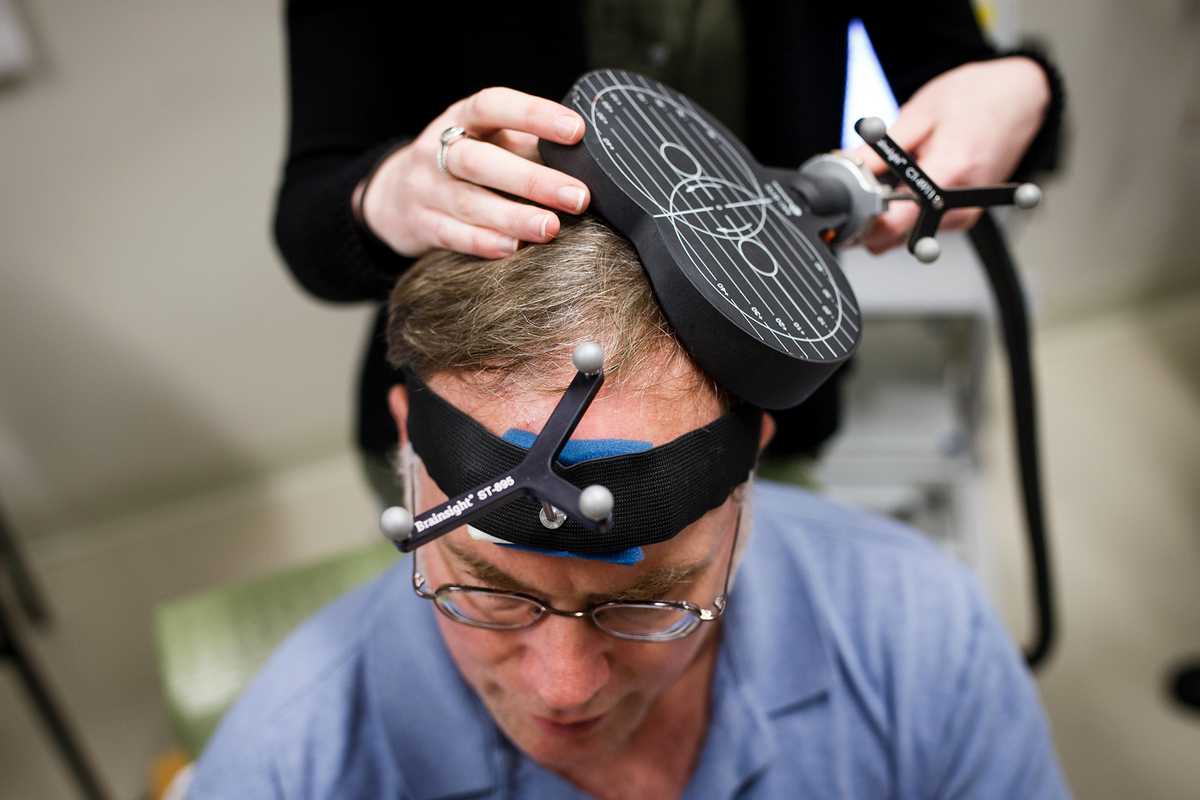 Transcranial Magnetic Stimulation (TMS) for Depression – Review of the Evidence