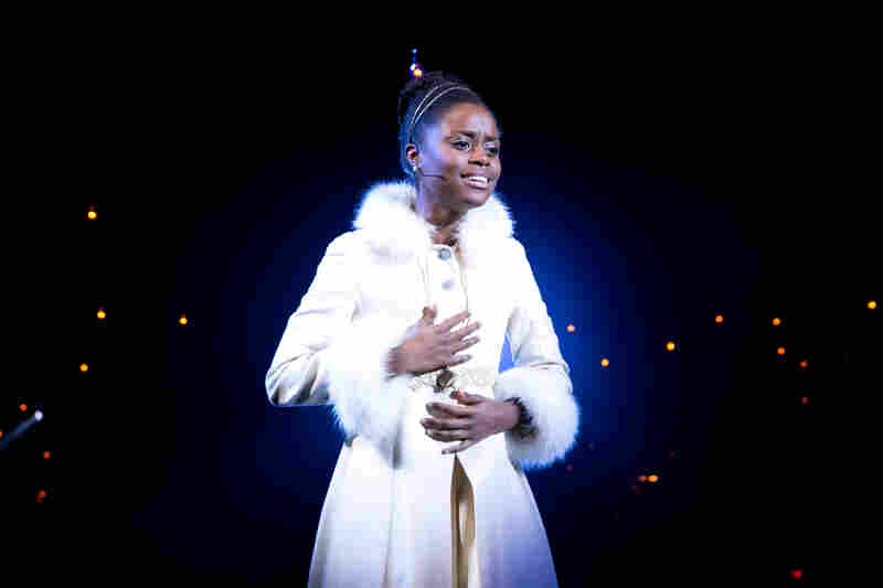 Natasha, Pierre & the Great Comet of 1812 is a musical based on a 70-page section of Leo Tolstoy's War and Peace. Denée Benton plays Natasha, opposite Josh Groban, in the role of Pierre.