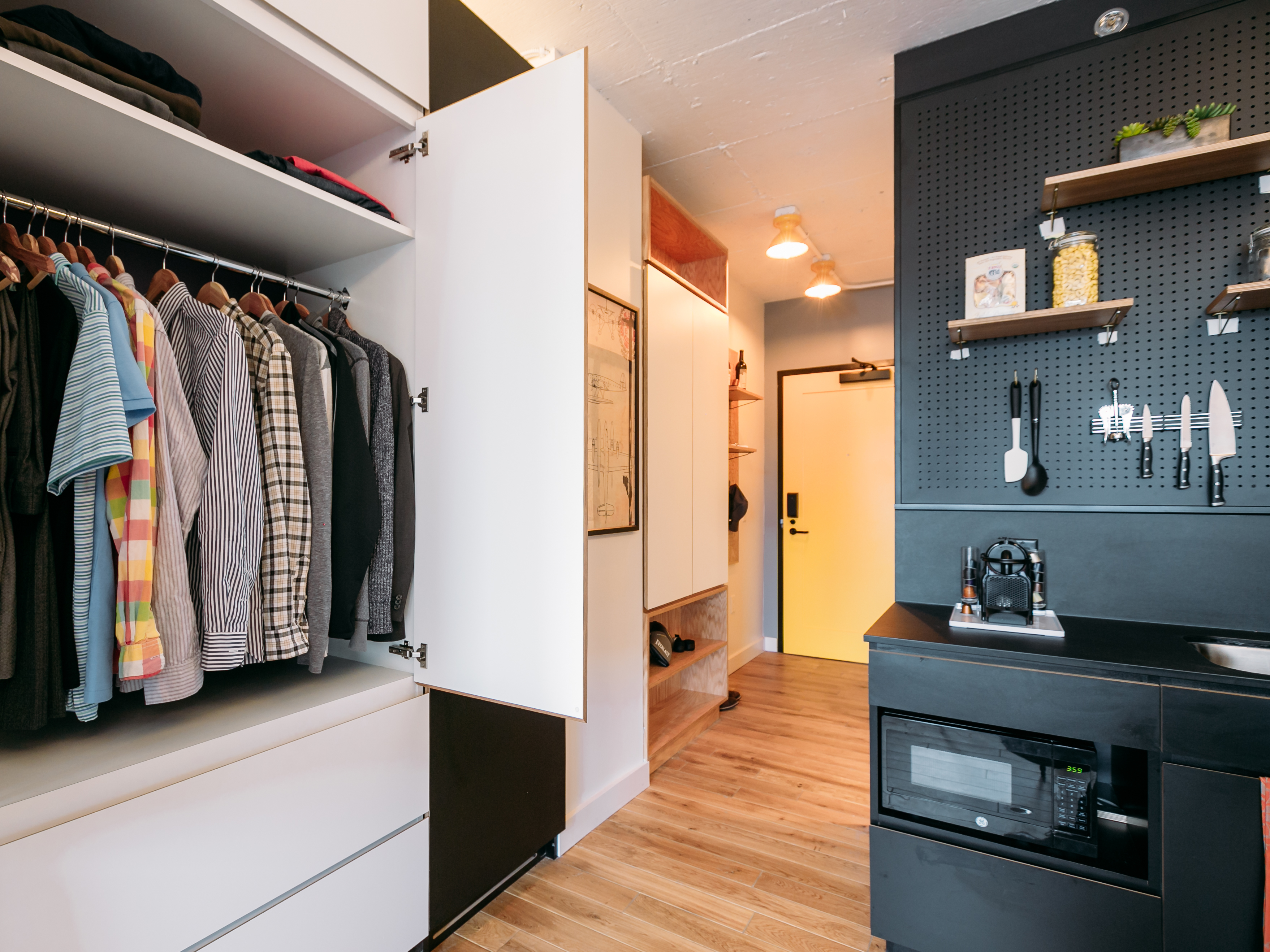 They're Small, But These Big-City Apartments Tout Their Communal Feel