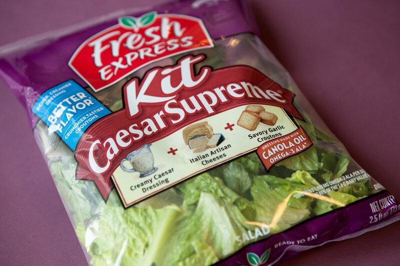As Bagged Salad Kits Boom, Americans Eat More Greens : The