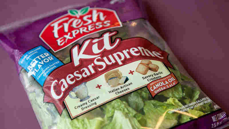 As Bagged Salad Kits Boom, Americans Eat More Greens