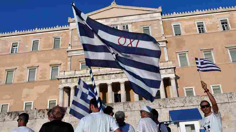 With Brexit, Greeks Worry About Europe's Future And Their Place In It