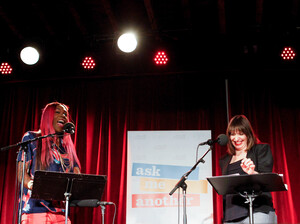 Big Freedia and Ophira Eisenberg on Ask Me Another.
