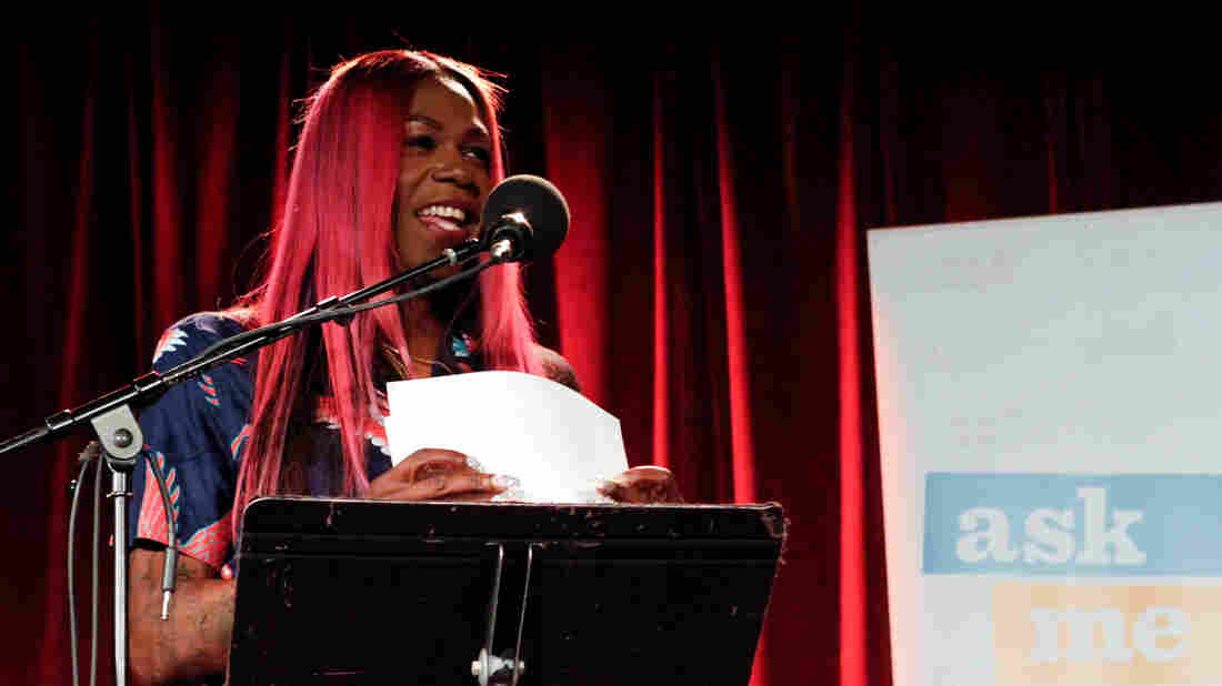 Big Freedia appears on Ask Me Another at the Bell House in Brooklyn, New York.
