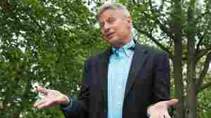 U.S. Libertarian Party presidential candidate Gary Johnson speaks to AFP in Washington, D.C., on May 9.