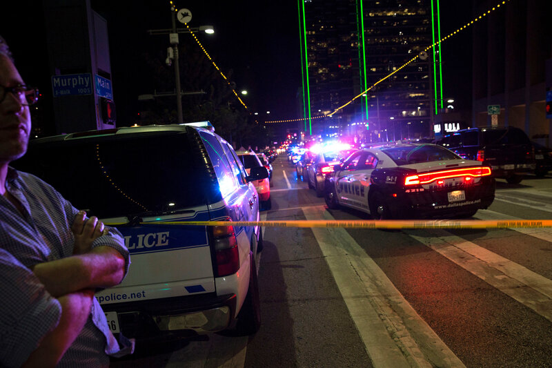 Dallas Shooting In An Apparent First Police Used A Bomb Robot To