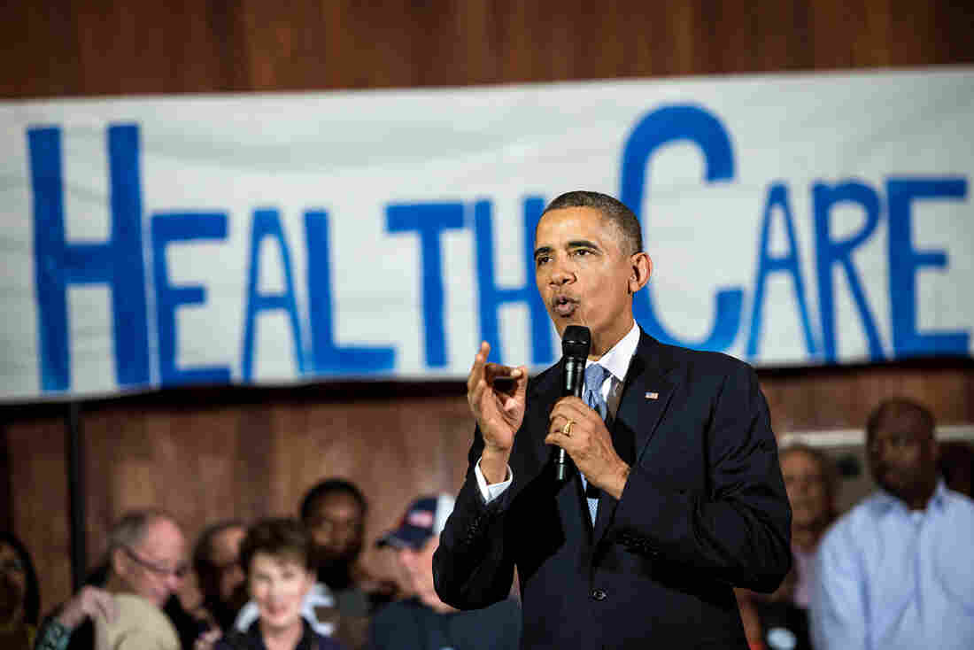 Obama Rallies for a Public Healthcare Insurance Option
