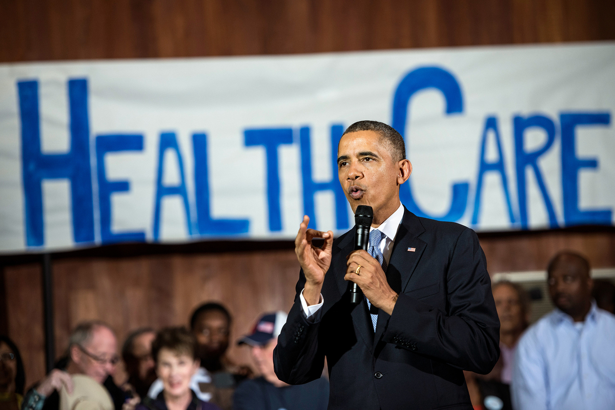 Obama Renews Call For A 'Public Option' In Federal Health ...