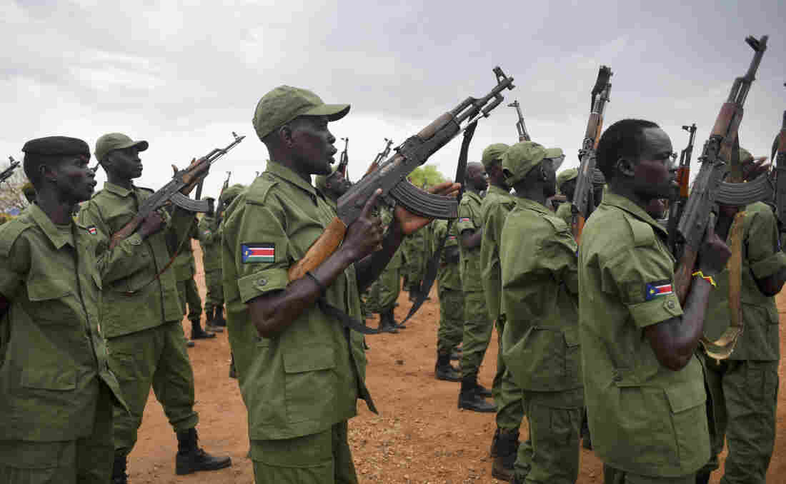 South Sudanese troops loyal to Vice President Riek Machar, pictured here in April, say their military positions in the capital are being attacked.