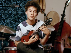 Jacob Collier's multi-tracked YouTube covers, recorded and filmed in his room, showed musical sophistication and adventurousness. On his debut album, In My Room, he brings the same qualities to original songs.