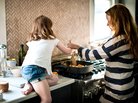 For many busy parents, getting dinner on the table is a daily struggle. Here's one time saver: Enlist the kids to help!