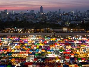 A market in Bangkok, Thailand.