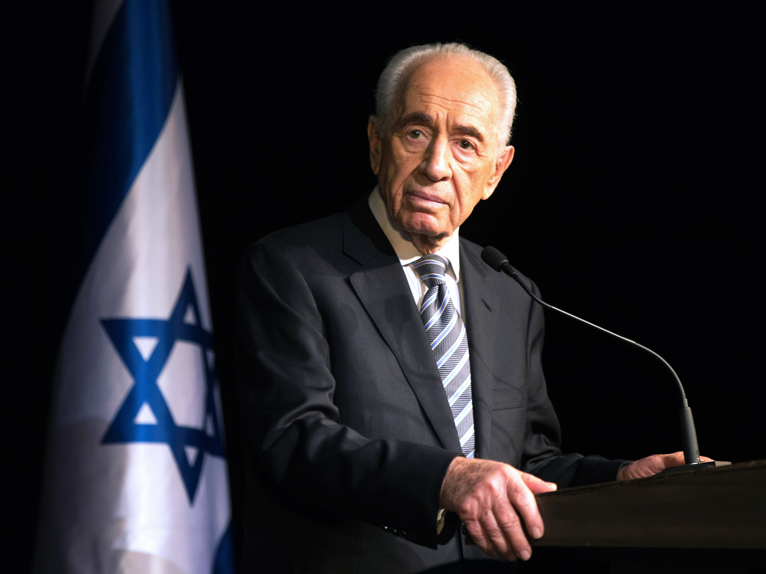Shimon Peres, One of Israel's Founding Leaders, Dies At 93