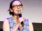 Comedy writer Jessi Klein speaks at the Tribeca Film Festival in 2015. Klein has also written for <em>Saturday Night Live</em> and <em>Transparent</em>.