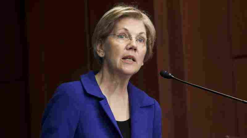 Sen. Elizabeth Warren, Democrat of Massachusetts, speaks about open markets and monopolies during the New America's Open Market Program last month.