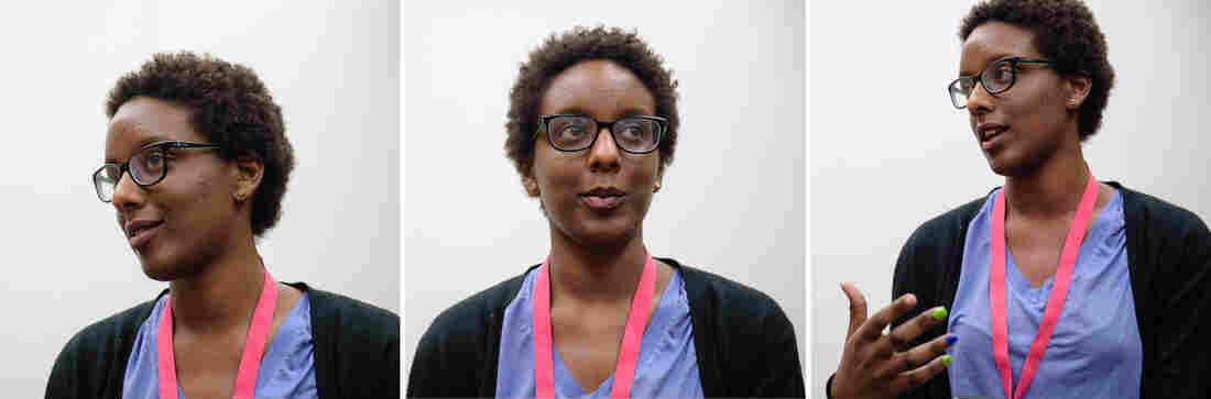 Keza Latifah Mashenge says her world view is shaped by her African mother and Arab father.